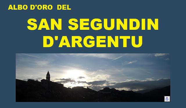 L'albo d'oro del San Segundin d'Argentu