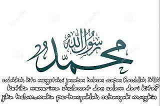 duta penjawab shalawat Rasulullah