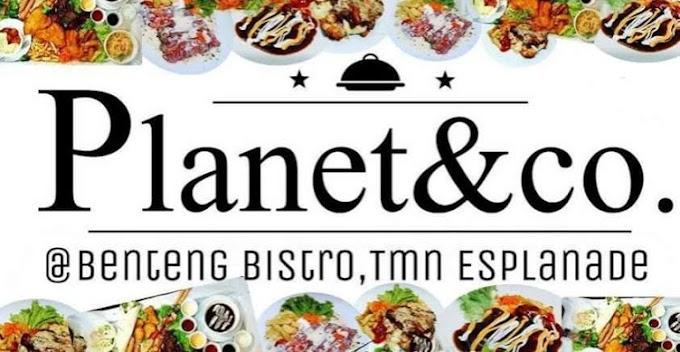 Western Food Murah Dan Sedap Di Planet & Co Benteng Bistro Taman Esplanade  Kuantan