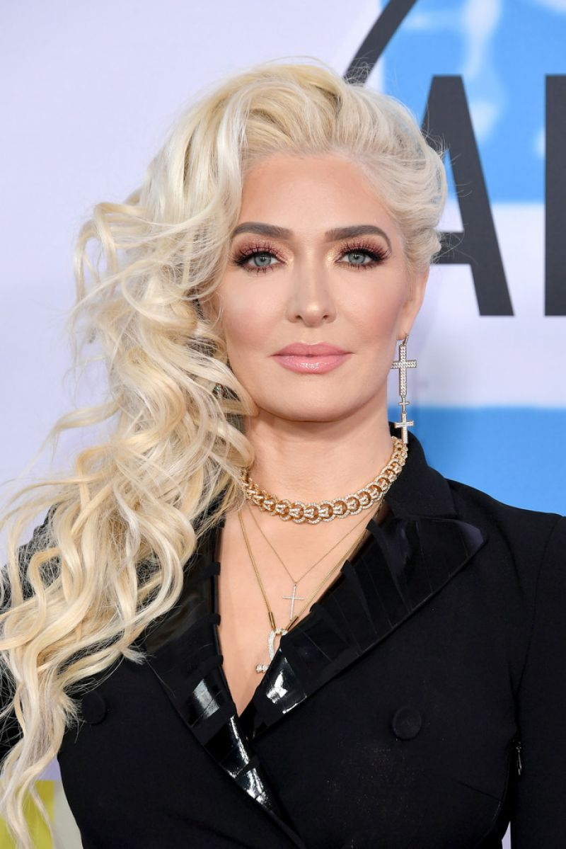 Photos of Erika Jayne,  at American Music Awards 2017 at Microsoft Theater in Los Angeles