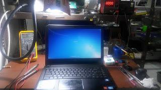 service laptop dell inspiron 3421 mati total