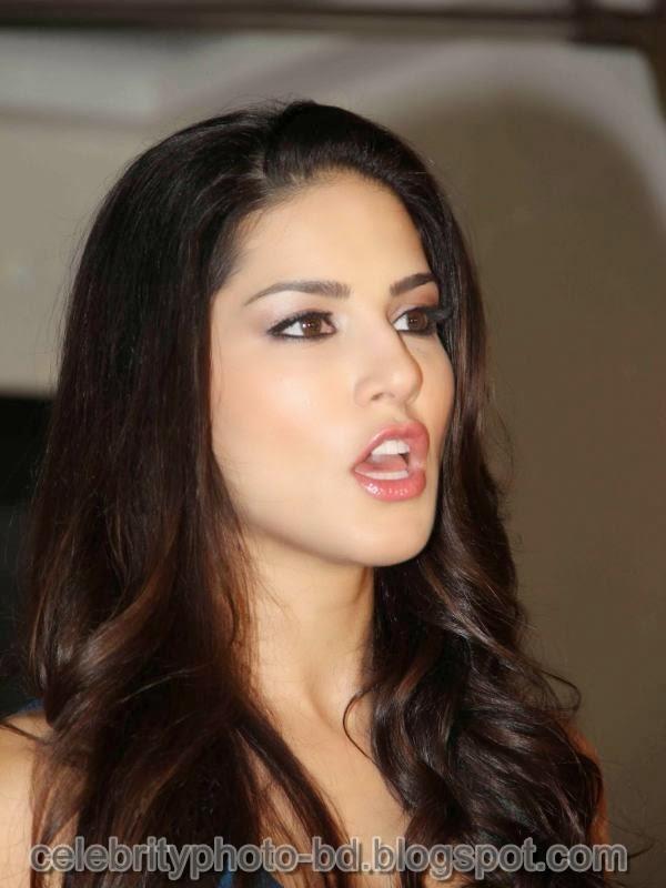 Sunny Leone Fashion Photos in Short Dress at MTV Webbed In Mumbai Drama Series Shooting 2014