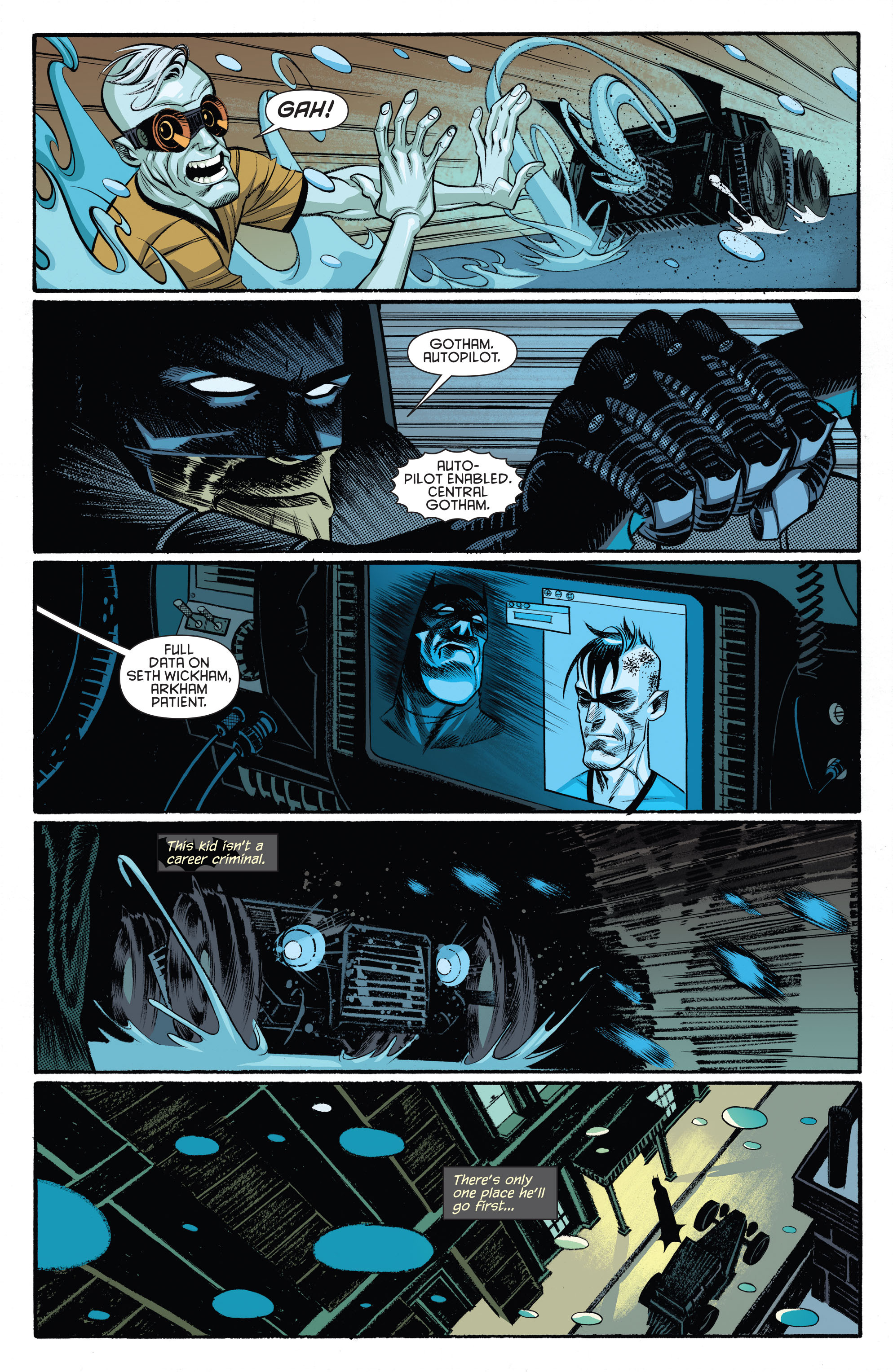 Read online Arkham Manor comic -  Issue #5 - 17