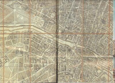 París antes de la Revolución, París en 1780, Planos antiguos de París
