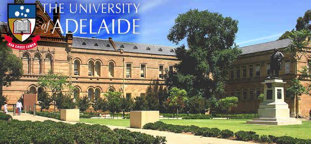 Beasiswa S2 & S3 University of Adelaide Australia