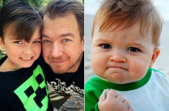 Saksikan Wajah Terkini Baby 'Success Kid' Yang Pernah Popular