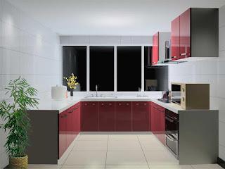Tủ bếp Acrylic HP17