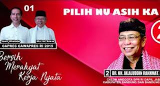 Program Kerja Pollitik Jalaludin Rahmat; Menjaga dan Melindungi Semua Agama termasuk Syiah