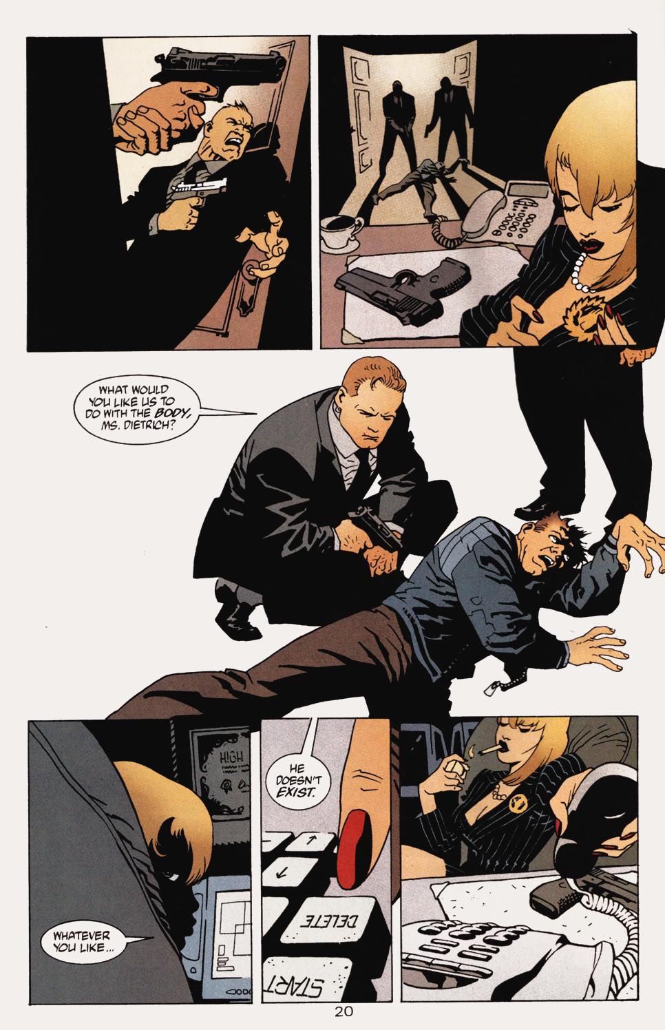Read online 100 Bullets comic -  Issue #5 - 22