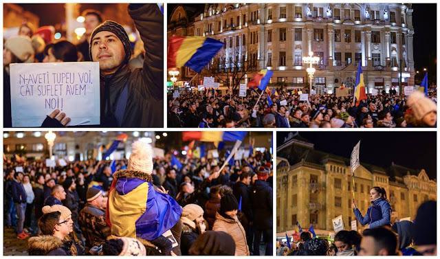 Timisoreni vor protesta din nou duminica impotriva modificarii Legilor Justitiei