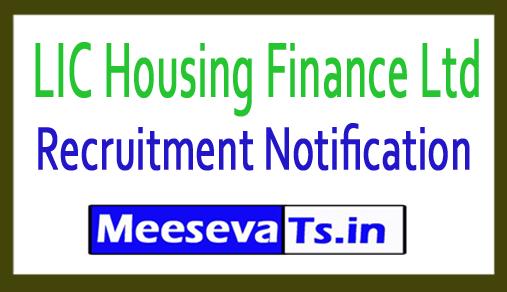 LIC Housing Finance Ltd LIC HFL Recruitment