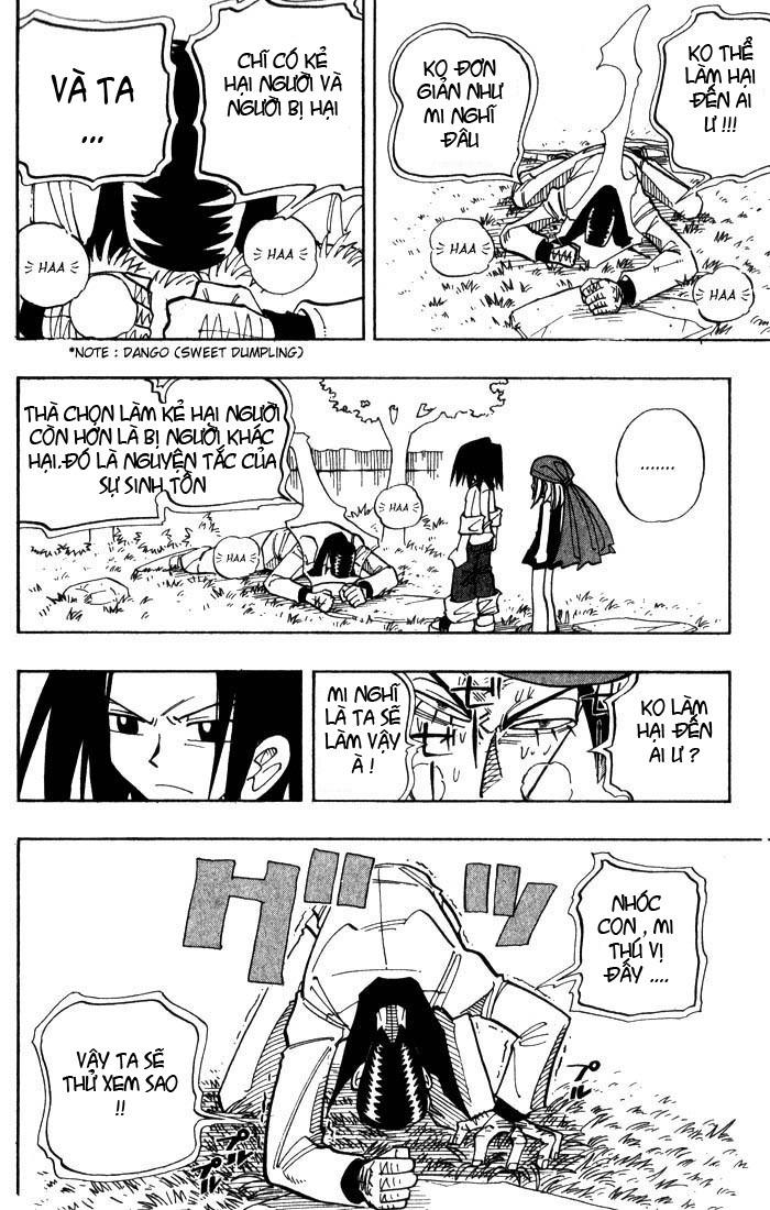 Shaman King [Vua pháp thuật] chap 24 trang 9