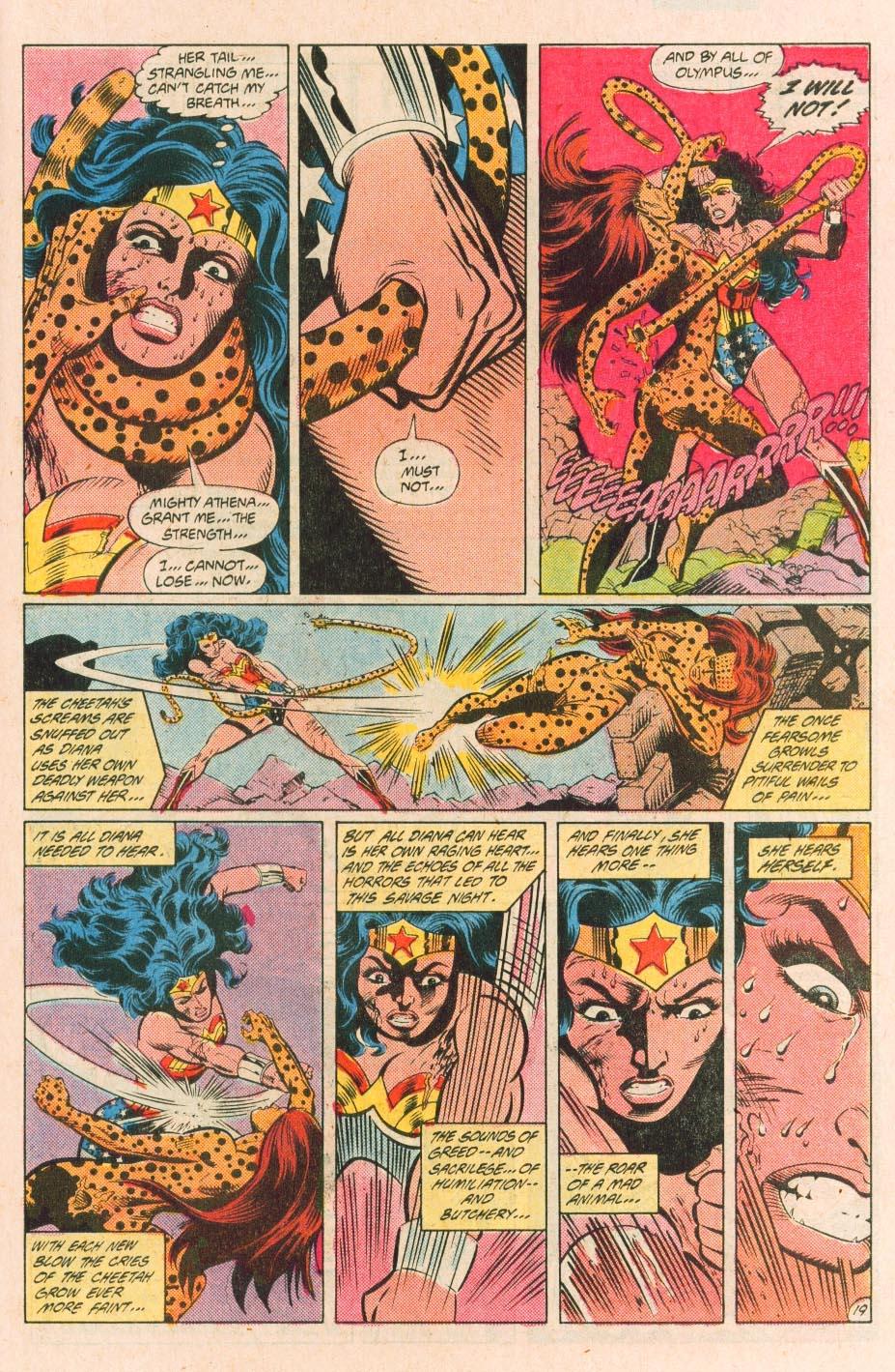 Read online Wonder Woman (1987) comic -  Issue #31 - 21