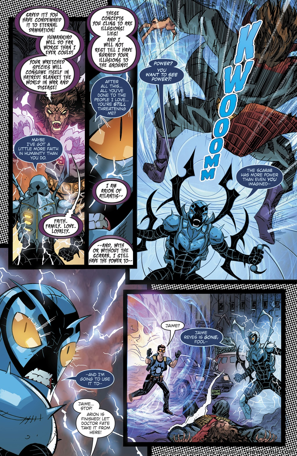 Blue Beetle v8 010 (2017) . | Vietcomic.net reading comics online for free