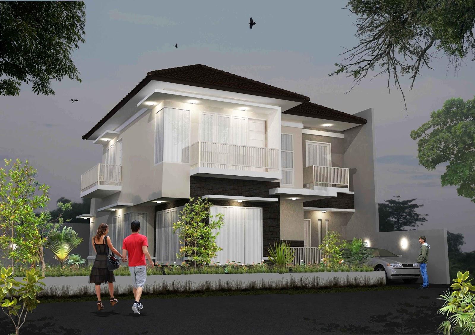 Kumpulan Desain Rumah Kos  Kontrakan Jasa Desain Rumah
