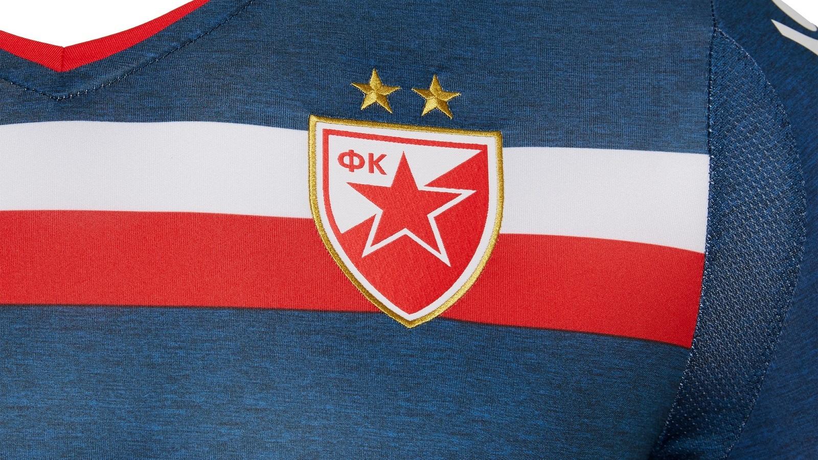 Red Star Belgrade 18-19 Away Kit Released - Footy Headlines 5c632c1f7