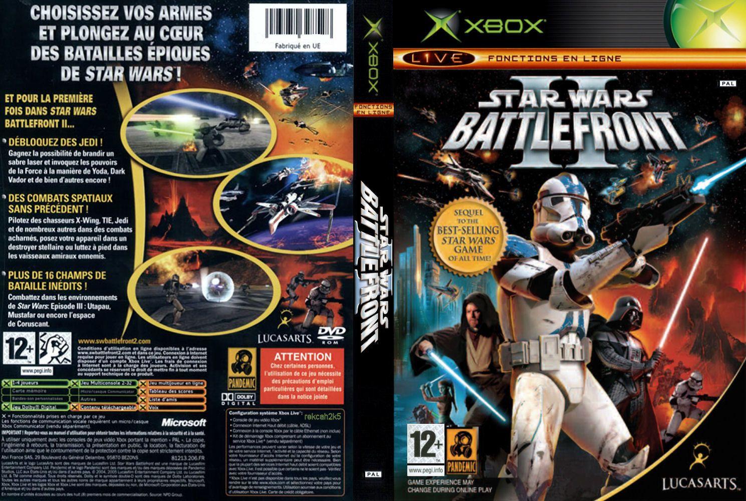 Juegos Xbox Clasicos En Formato Iso Star Wars Battlefront 2