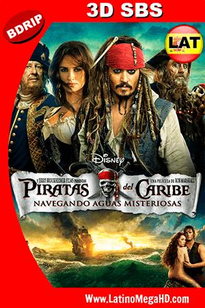 Piratas del Caribe: Navegando Aguas Misteriosas (2011) Latino HD BDRIP 3D SBS 1080P ()