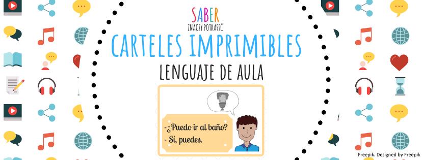 CARTELES IMPRIMIBLES: el lenguaje de aula | PLAKATY DO DRUKU: język klasowy