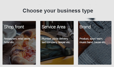 Choose Your business type