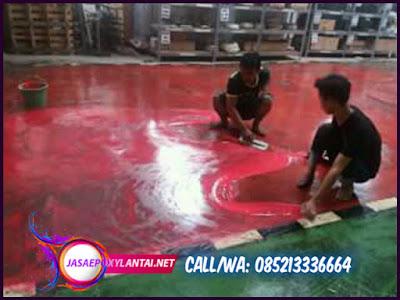 Kontraktor Epoxy Lantai Pabrik Industri Cikarang & Cibitung