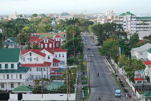 Georgetown, Capital da Guiana