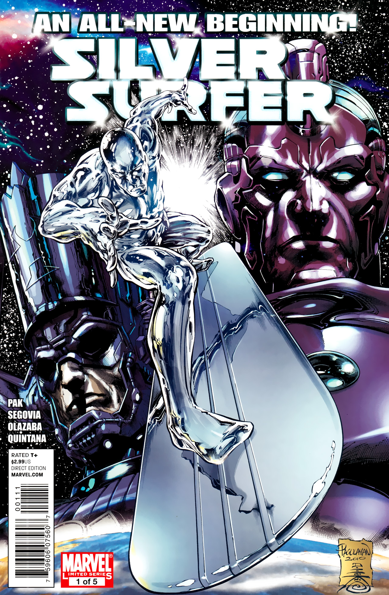 Read online Silver Surfer (2011) comic -  Issue #1 - 1