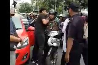 Pengemudi Mobil yang Baku Pukul dengan Anggota TNI Ternyata ....