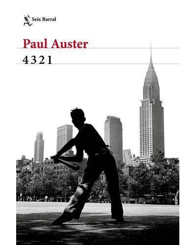 Portada del libro 4321 de Paul Auster