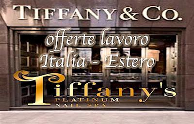 adessolavoro.blogspot.com - Tiffany offerte lavoro -
