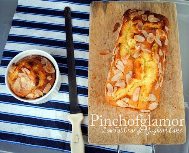 Pinchofglamor: Low Fat Orange Yoghurt Cake