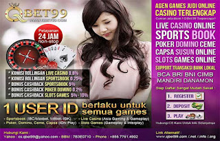 Situs Judi Live Casino Baccarat QBet99.info