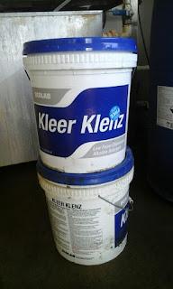 ember berisi zat alkaline di New Zealand