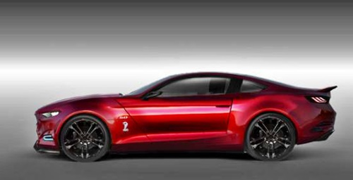 2017 Ford Mustang Shelby GT 500 Sport Design