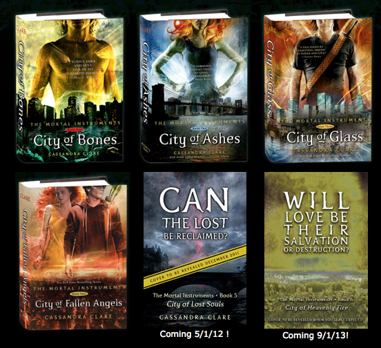 Mortal Instruments Book Series
