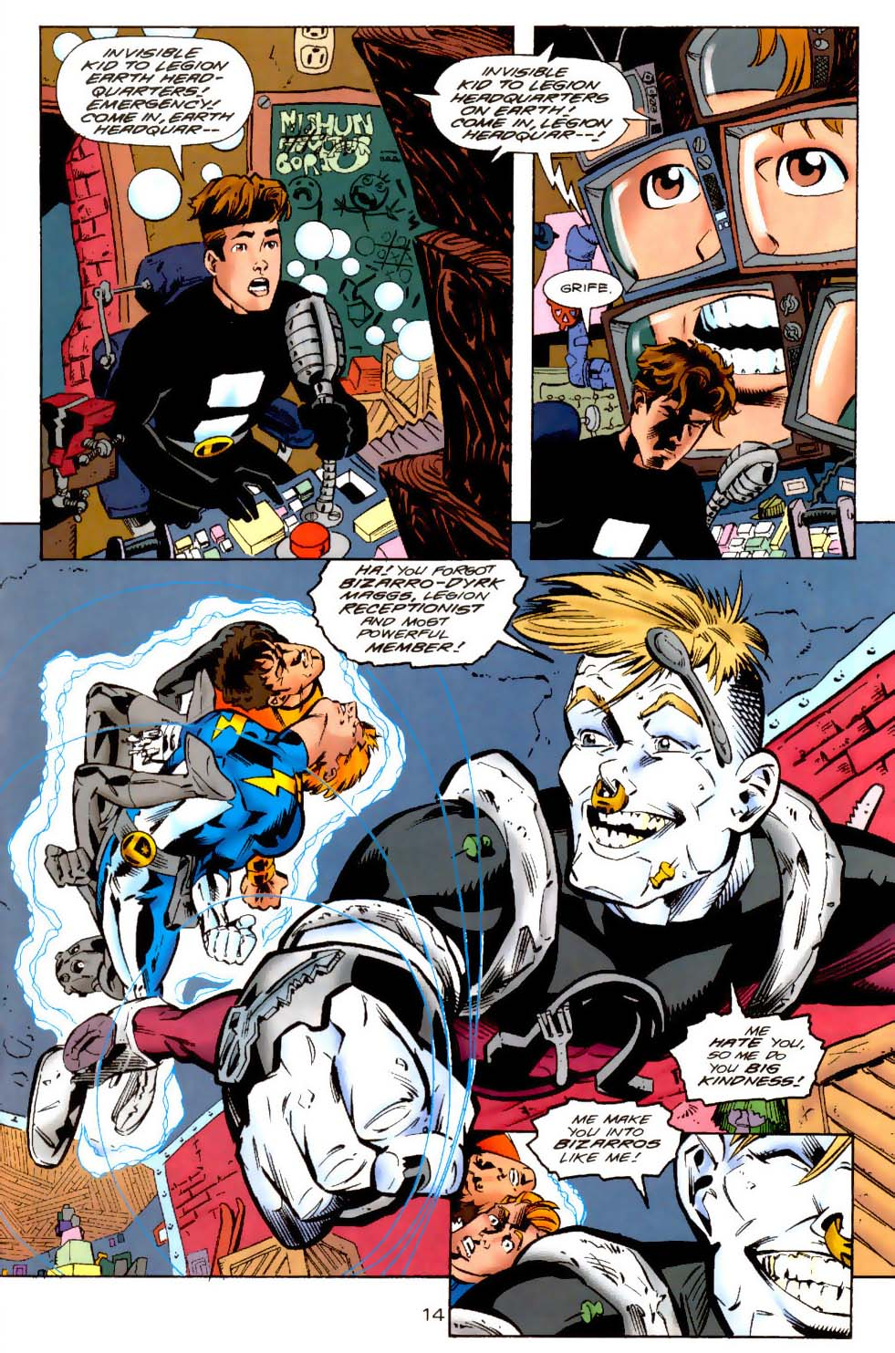 Legion of Super-Heroes (1989) 114 Page 14