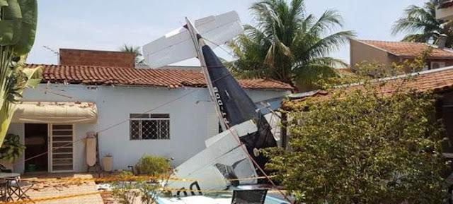3 νεκροί από πτώση αεροσκάφους σε... πισίνα!!! (βίντεο)
