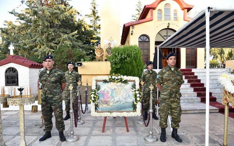 Αλεξανδρούπολη: Πανήγυρις Παρεκκλησίου Προφήτη Ηλία στο Στρατόπεδο Κανδηλάπτη