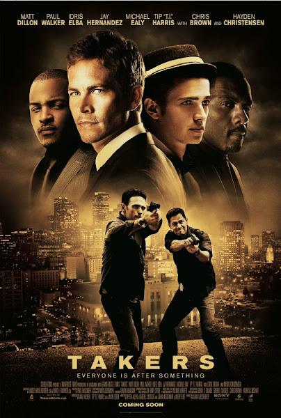 Poster Of Takers 2010 720p Hindi BRRip Dual Audio Full Movie Download