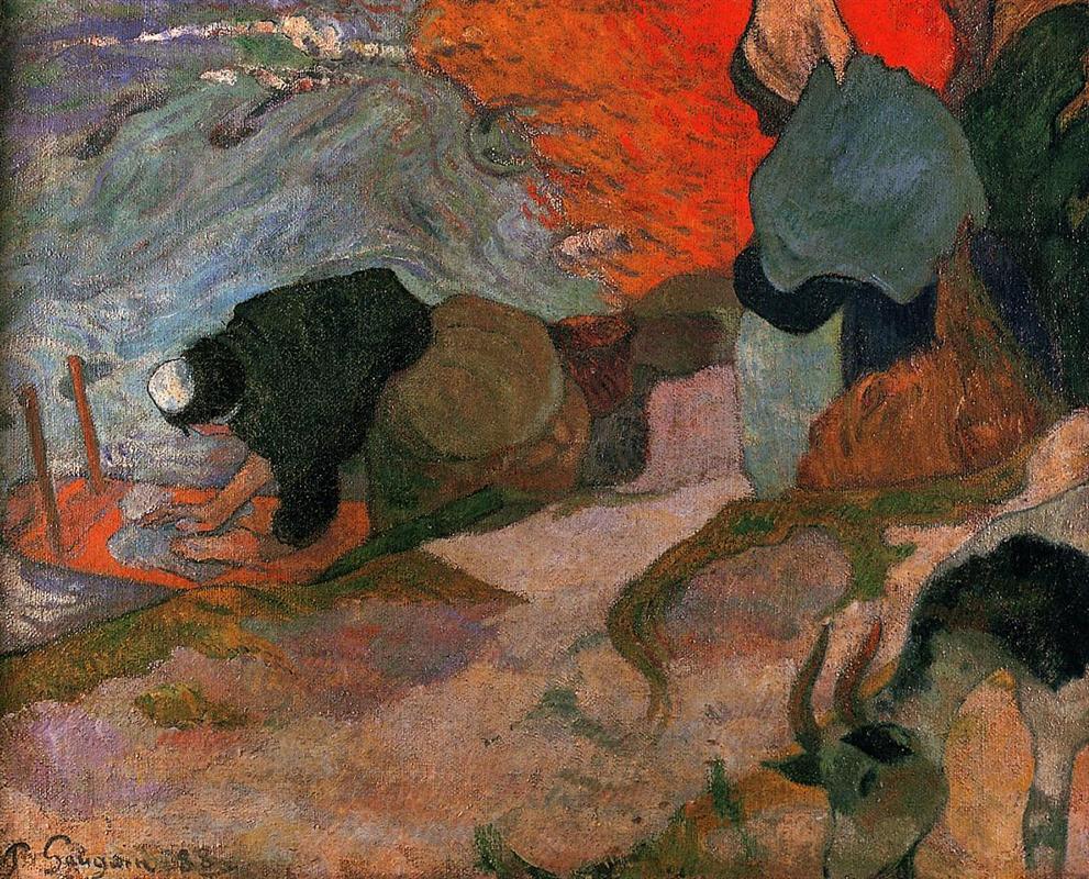 comparison of van gogh and paul gauguin 692 paul gauguin to vincent van gogh pont-aven, monday, 1 october 1888.