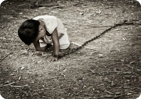 Niños esclavos en Camboya
