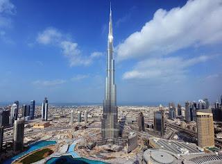 Burj Khalifa el edificio mas alto del mundo. La construccion mas alta del mundo. Burj Khalifa en Dubai