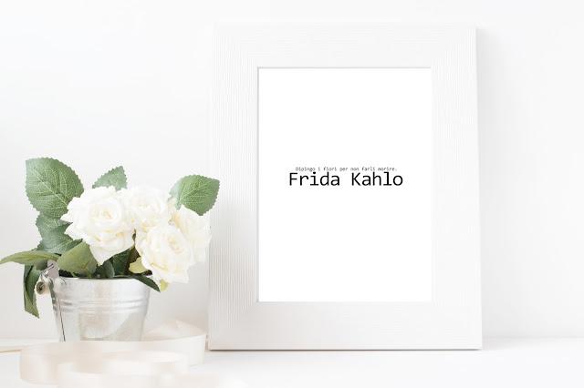 Poster free citaz.Frida
