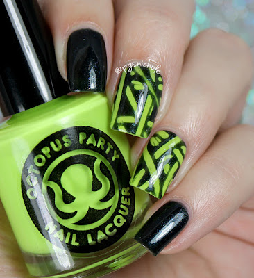 Octopus Party Nail Lacquer | More Summer Decal Nail Art