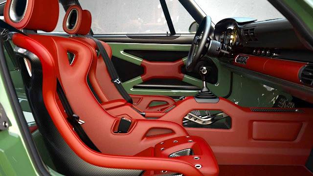 Porsche 911 Singer Williams engine with 500 HP