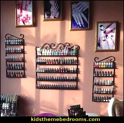 Nail Polish Wall Rack Organizer