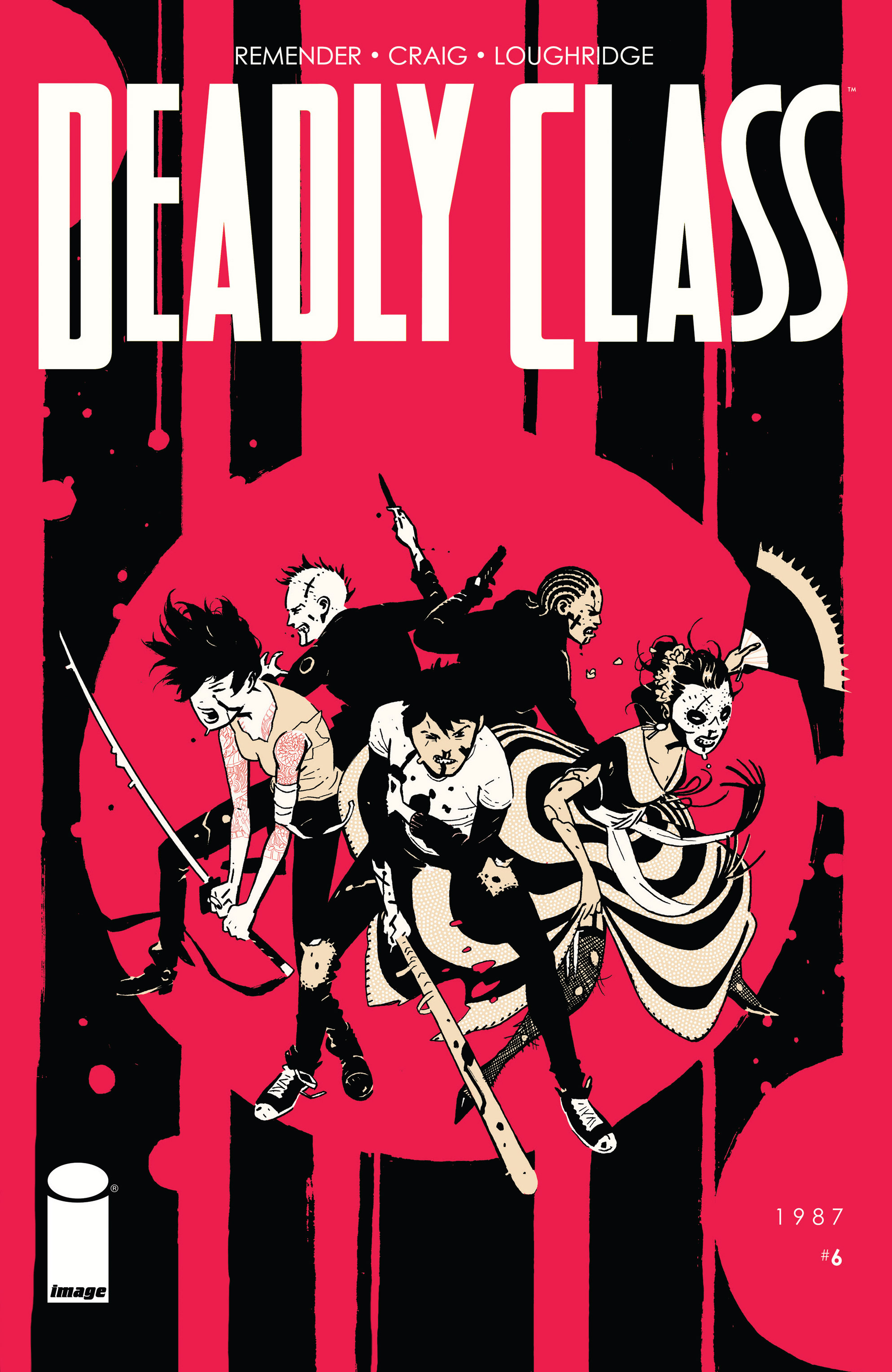 Read online Deadly Class comic -  Issue #6 - 1