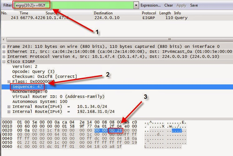 ThinGs-on-E: Packet capture byte level filter
