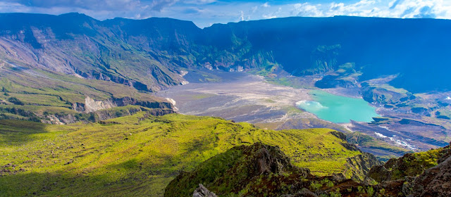 Tambora's Crater