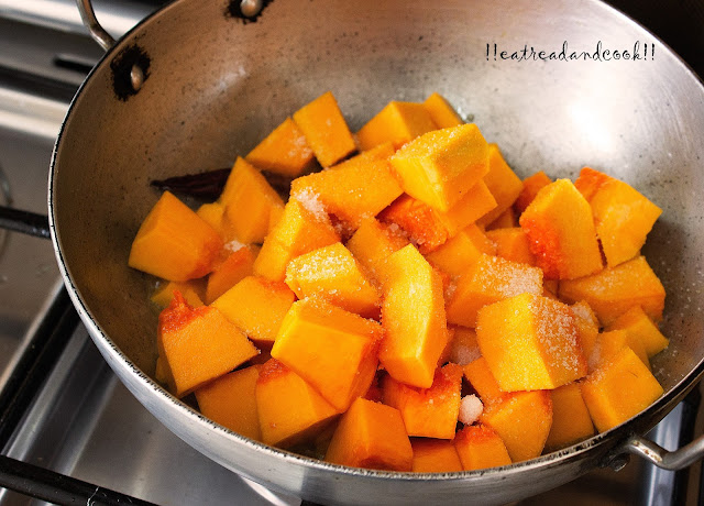 bengali pumpkin with coconut curry recipe